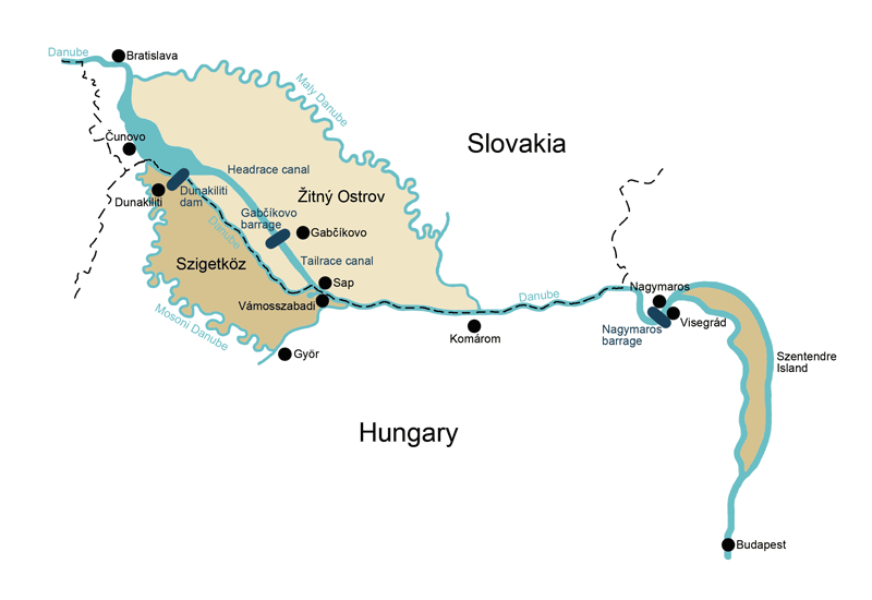 The Gabcikovo Nagymaros Project Case Hungary V Slovakia